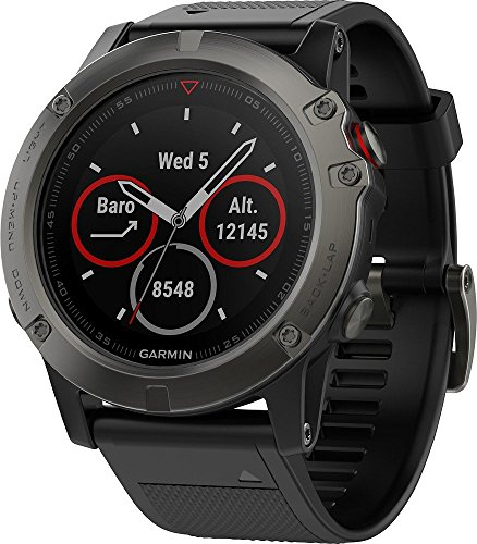 Garmin Garmin Fenix 5 x Sapphire, Slate Gray with Black Band