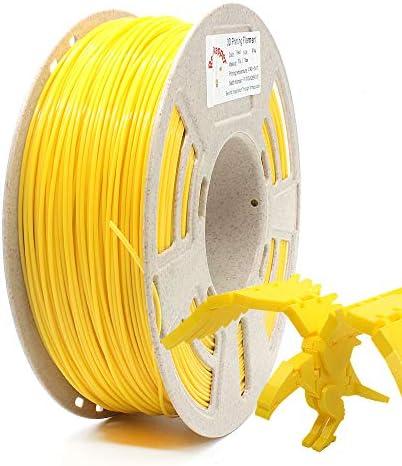 Reprapper Yellow PLA Filament for 3D Printer 3D Pen 1 75mm 0 03mm 2 2lb 1kg Free Nozzle Cleaning product image