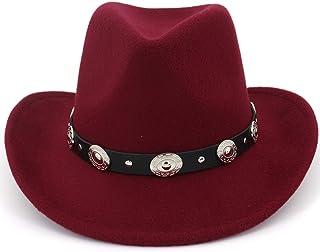 faf7301df6f Lisianthus Men   Women s Felt Wide Brim Western Cowboy Hat