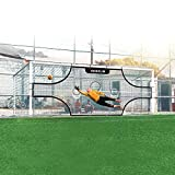 AKOZLIN Soccer Field Nets Target Sheets Attach to Your Goal for The Ultimate Accuracy Training Partner (only net)