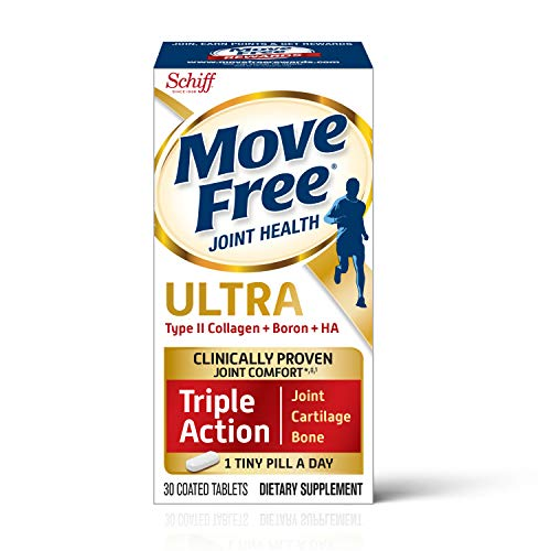 Type II Collagen & Boron - Move Free Ultra Triple Action Joint Support Tablets (30 Count In A Box),...