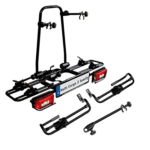 MFT 1x multi-cargo 2 family Fahrradträger AHK 2 Fahrräder + MFT multi-cargo 2 family Erweiterung 3. Fahrrad