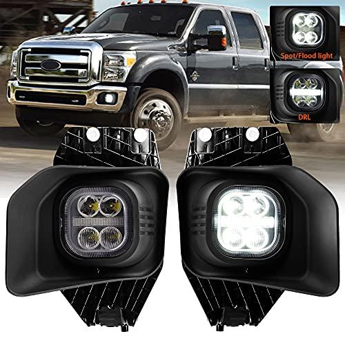 LED Fog Lights with Daytime Running Lights for Ford 2011 2012 2013 2014 2015...