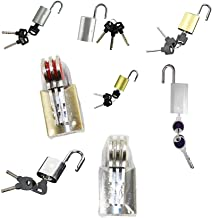 Kaartblokkade/Box Lock/Bill Pakket Hangslot/Custom Management Lock-B zilver