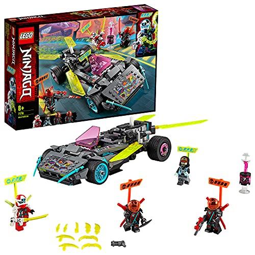 Lego71710NINJAGONinja-Tuning-FahrzeugmitWaffenundKlingen,Bauset,PrimeEmpireRennfahrzeuge
