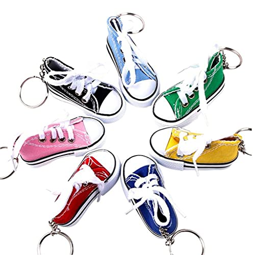 Motorcycle Bicycle Foot Support Decoration, Small Motorcycle Kickstand Pad Canvas Finger Shoes Sneaker Keychains