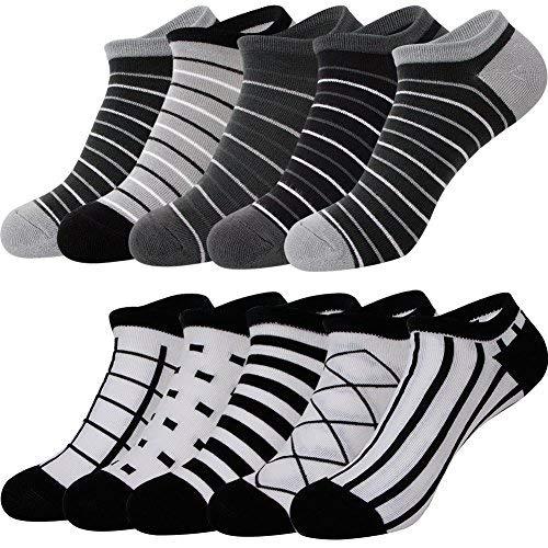 メンズ スニーカー ソックス ショート くるぶし 靴下 カジュアル ソックス 10足組 セット AYSKXL21-01