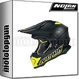 NOLAN CASCO MOTO CROSS N53 VULTUR NERO MATTO 055 TG. M