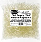 QUALITY - Never made in China - Highest quality gelatin capsules available, all of our capsules are manufactured in state of the art cGMP Certified Facilities (Certified Good Manufacturing Practices) meeting required healthcare compliance. Made with ...