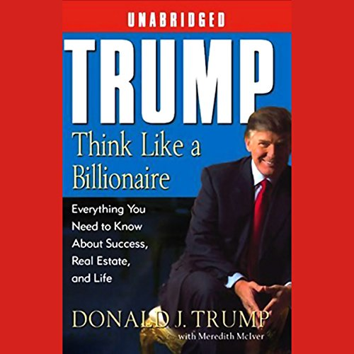 Trump audiobook cover art