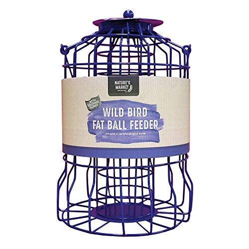 Natures Market Kingfisher BF007FB Mangeoire pour Boules de Graisse