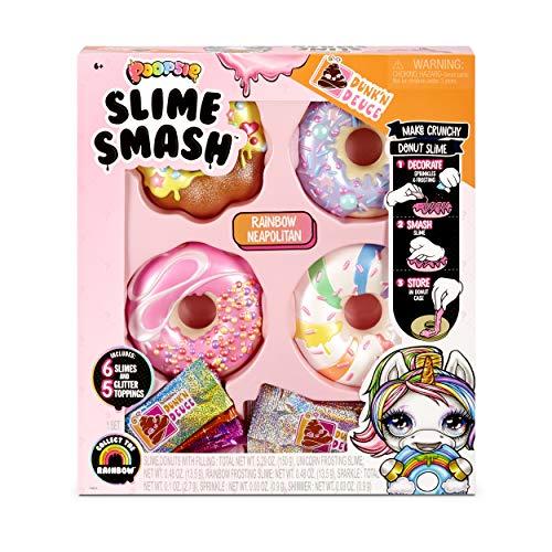 Poopsie Slime Smash Rainbow Neapolitan with Crunchy Donut Slime