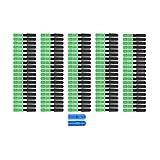 100Pcs Cavo Monomodale SC/APC, Connettore Ottico Rapido, Ftth Embedded Fibra Ottica Cold A...