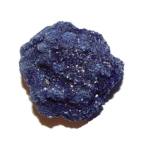 Azurit Kristall Mineral Rohstück klein Größe ca. 12-15 mm schöne blaue Farbe