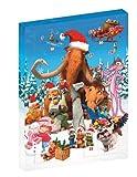 Calendrier de l'Avent-Coffret 6 L'âge de Glace + Alvin & Les Chipmunks + Garfield-Le Film + Rio + Joyeux Charlotte aux Fraises + Le Noël de la Panthère Rose [Édition Limitée]