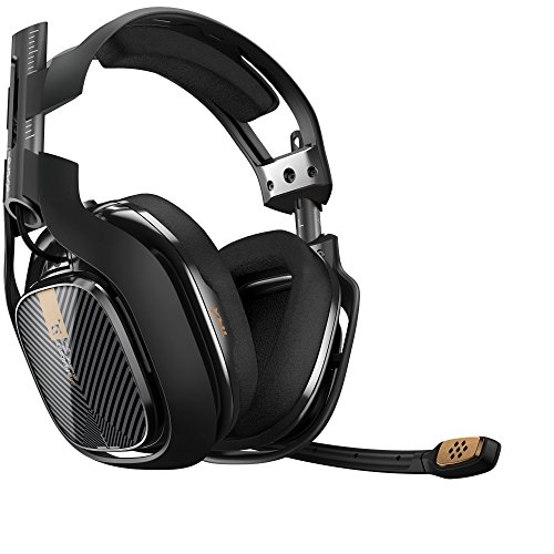 ASTRO Gaming A40 TR Gaming Headset for PC, Mac - Black(Renewed)