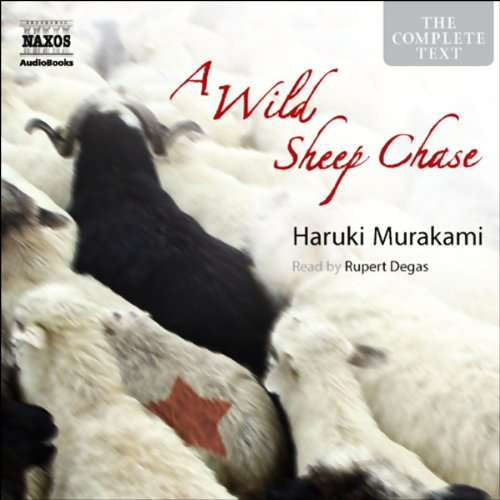 A Wild Sheep Chase audiobook cover art