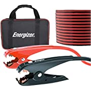 Energizer Jumper Cables for Car Battery, Heavy Duty Automotive Booster Cables for Jump Starting Dead or Weak Batteries with Carrying Bag Included (20-Feet (2-Gauge)