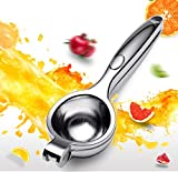 JJZD Clip exprimido Fruta del limón Exprimidor Manual Anaranjado Exprimidor Inicio Mini Fruta exprimido Fresco Durable