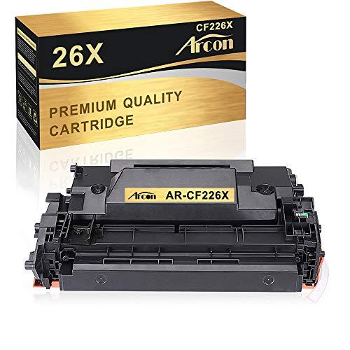 Arcon Kompatibel Toner Cartridge Replacement für HP 26X CF226X 26A CF226A Toner für HP Laserjet Pro M402DNE M402DN M402DW M402DNE 402DNE M402 HP Pro MFP M426DW M426FDN M426FDW M426 Toner Schwarz