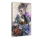 Noel Gallagher Leinwand-Poster, Wandkunst, Deko, Bild,
