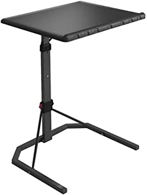 XDDDX Folding Table Cart Mobile, Coffee Small Space Snack Table, Lifting Small Table Simple Folding Table