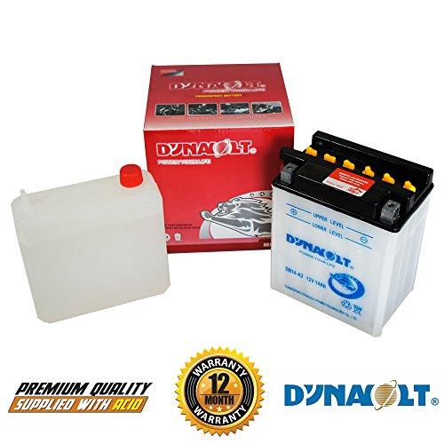 Dynavolt YB14-A2 Motorrad Batterie