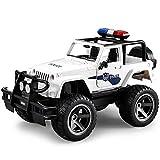 Control remoto inalmbrico Camin de bomberos Modelo de coche de polica Simulacin Sonido y luz Coche de juguete elctrico Control remoto grande Coche de juguete todoterreno Coche de juguete de resc