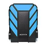 ADATA HD710 Pro - Disco duro externo (2000 GB, 2.5', 3.0 (3.1 Gen 1), Negro, Azul)