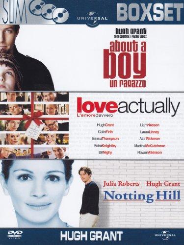 About a boy - Un ragazzo + Love actually - L'amore davvero + Notting Hill [3 DVDs]