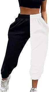 Da Donna Chino Boyfriend Jeans Pantaloni Lunghi Cavallo Basso Harem Pantaloni Pump Pantaloni Harem Pantaloni pluderhose 44