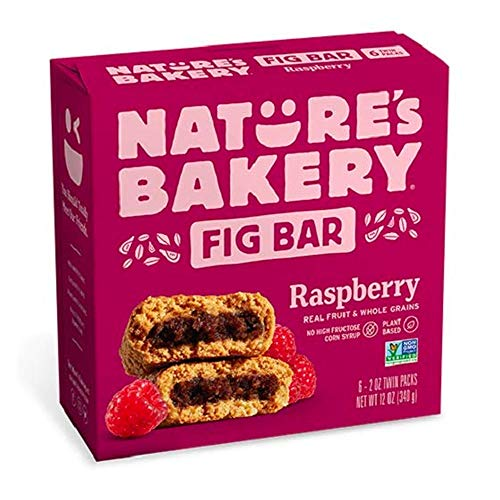 Nature's Bakery Raspberry Fig Bars, 2 oz, 6 ct