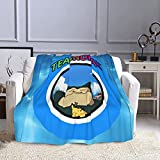 ReNcHo S-nor-Lax Blanket Polyester Fiber Super Soft Blanket Warm Sofa Blanket Air Conditioning Blanket 50'x40' 60'x50' 80'x60' There are Three Sizes for You to Choose