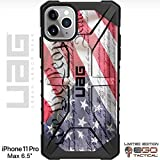 UAG Apple iPhone 11 Pro MAX [6.5' Screen] Limited Edition Case Urban Armor Gear by EGO Tactical - We The People, Constitution Flag