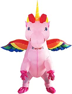 GOPRIME Unicorn Costume Horn Horse Inflatable Suit