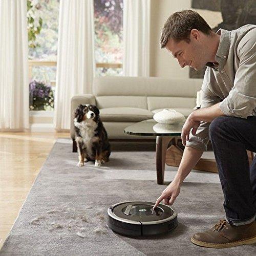 iRobot Roomba 865 Staubsaugroboter (für Tierhaare) grau - 6