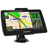 AWESAFE GPS Navigation for Car 7 inches Touch Screen Car GPS Navigation System