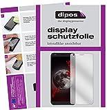 dipos I 2X Schutzfolie klar kompatibel mit Sharp B10 Folie Bildschirmschutzfolie