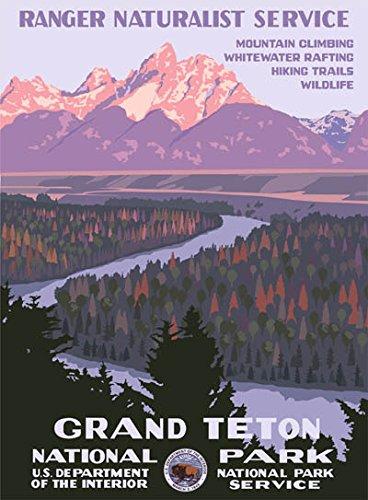 Ford Grand Teton National Park Poster