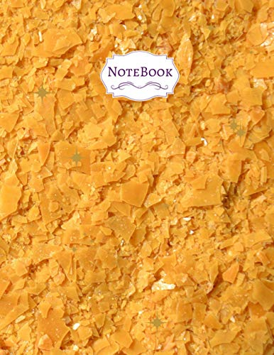 Unlined notebook Yellow carnauba wax...