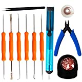 Kaisi Professional Solder Assist Tools and Accessory Kit (11 Piece)