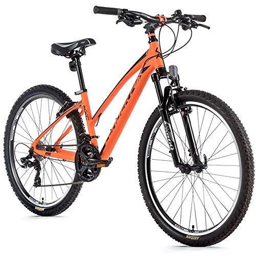 26 Zoll Alu Leader Fox MXC Lady Fahrrad Mountain Bike Shimano 21 Gang orange RH 46cm