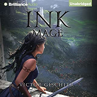 Ink Mage     A Fire Beneath the Skin, Book 1              By:                                                                                                                                 Victor Gischler                               Narrated by:                                                                                                                                 Fiona Hardingham                      Length: 11 hrs and 11 mins     2,199 ratings     Overall 4.2