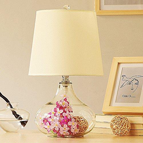 & leeslamp tafellamp voor slaapkamer, nachtkastje, bruiloft, van glas, decoratief, Scandinavische stijl, modern, minimalistisch, creatieve tafellamp, decoratieve bedlampje