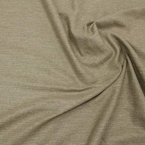 kawenSTOFFE Tweedstoff Wollstoff Beige Grün meliert Mittelalter Anzugstoff Meterware