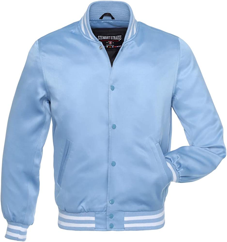 Stewart Strauss Original Satin Bomber Animer Max 59% OFF and price revision Team Jackets 19 Colors