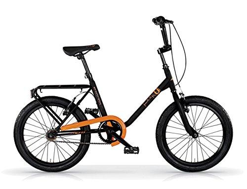 MBM FK-U Acc 20' 1S, Bicicleta Unisex Adulto, Naranja A15, XX