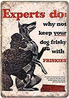 Friskies Dog Food ティンサイン ポスター ン サイン プレート ブリキ看板 ホーム バーために