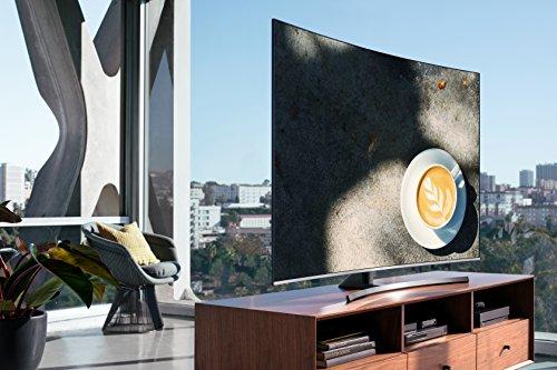 "Samsung UN55NU8500FXZC Curved 55"" 4K Ultra HD Smart LED TV (2018), Slate Black [Canada Version]"