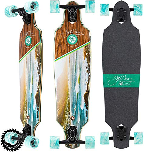 """Sector 9 Longboard Complete Cape Roundhouse Carving Sidewinder 8.85"""" x 34"""""""